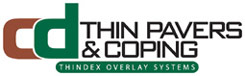C and D Thin Pavers Thindex Concrete Overlay System